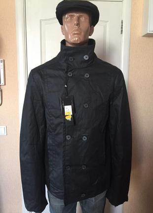 Куртка мужская черная демисезонная  antony mo...код А0007