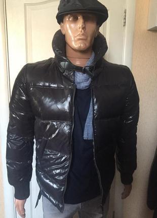 Куртка-пуховик мужская antony morato италия размеры: 46
