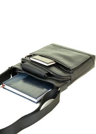 Мужская кожаная сумка-планшет