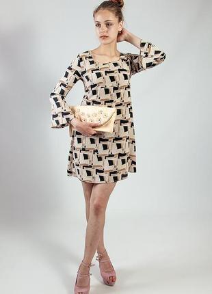 Платье женское весна короткое цветное  rinascimento код R-222