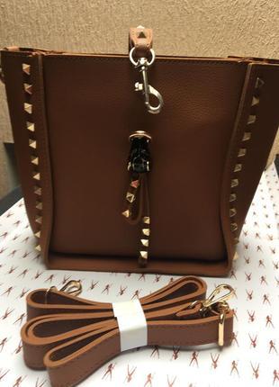 Женская сумочка маленькая рыжего цвета код 170