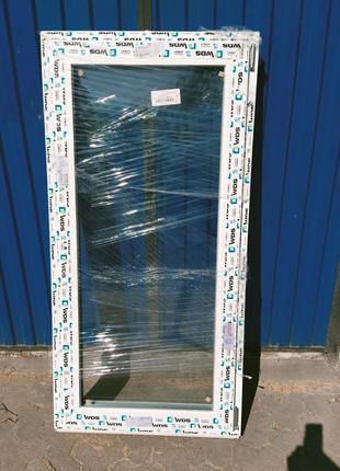 Металопластікові Вікна (ПВХ) 743*1498 мм. Розпродаж, Знижка -50%