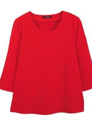 Туника женская 3/4 рукав ярко-красного цвета esmara  код-207