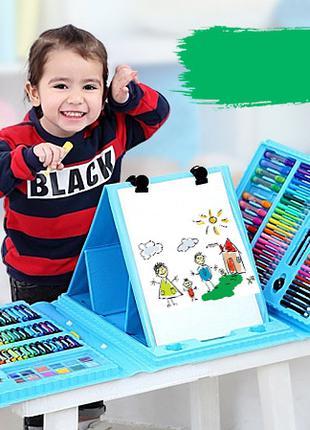 Набор для детского творчества в чемодане из 200+ предметов