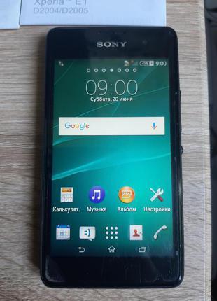 Sony Xperia E1 D2005 Black