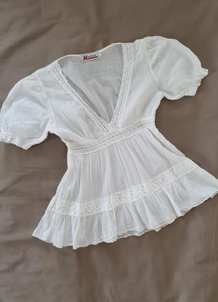 Блуза летняя стильная