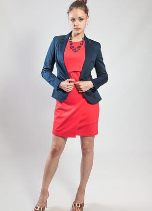 Пиджак-жакет женский темно-синий rinascimento код R-31