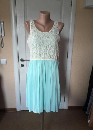 Платье женское летнее цвет мяты cache c cache код С-21262