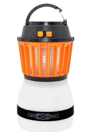 Знищувач комарів Killer Lamp M4 IP67 2в1 пастка для комах + ліхта