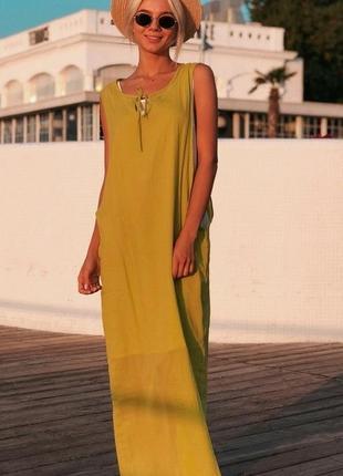 Новинка! платье женское яркое летнее двойное код К-43262