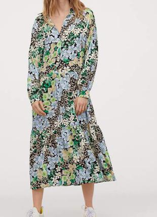 Платье с воротничком h&m