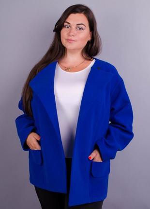 Короткое кашемировое женское пальто код Гл-132