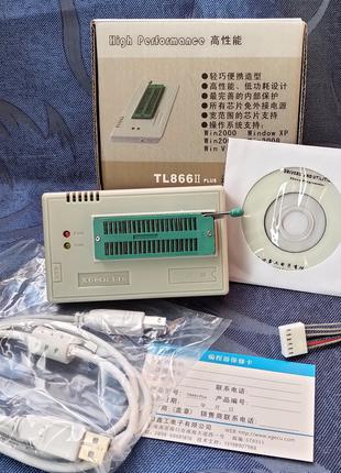 Программатор XGecu TL866II Plus (MiniPro TL866)