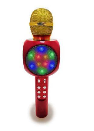 Беспроводной микрофон караоке блютуз WSTER 1816 Bluetooth