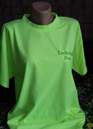 Мужская футболка неонового цвета, от activewear