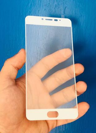Стекло для Meizu M3 Note; Note 3 белое