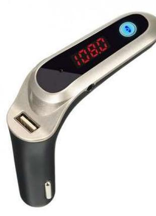 FM модулятор G6 Bluetooth USB AUX MicroSD трансмиттер