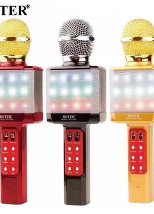 Bluetooth Микрофон-караоке Wster WS-1828 Оригинал!