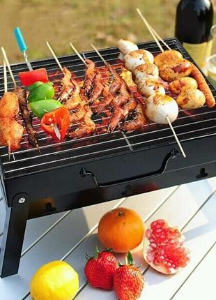 Складной барбекю гриль портативный мангал BBQ Grill Portable