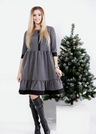 Платье женское повседневное большие код Га-0988-2