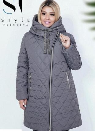 Женская зимняя куртка удлиненная код ST-40383