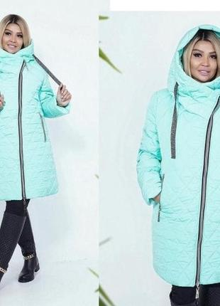Женская зимняя куртка удлиненная код ST-40382