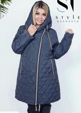Женская зимняя куртка удлиненная код ST-40381