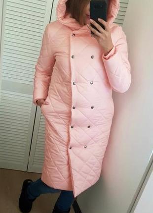 Женское пальто стеганое зимнее код Оз-223621