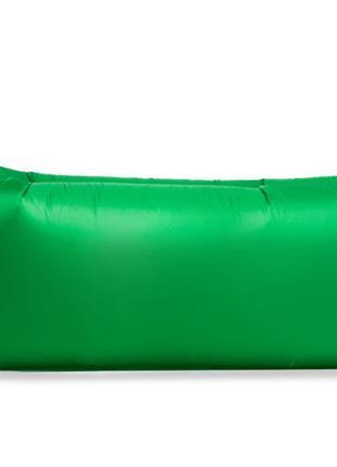 Надувной матрас, ламзак, лежак, шезлонг для Зелёный. Серия лайт.