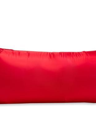 Надувной матрас, ламзак, лежак, шезлонг для отдыха Красный. Серия