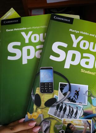 Your space 3 Student's book, workbook, Teacher's book+ CDs