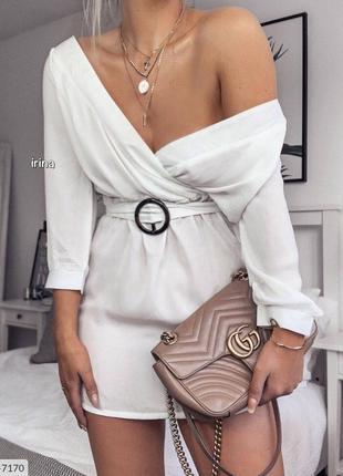 Платье с Поясом!