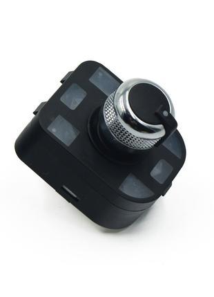 Хром кнопка регулировки зеркал Audi A4/A6/A8/Q7/R8 (Складывание)