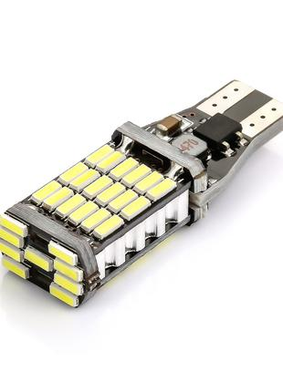 Led лампа T15 W16W 45SMD 4014 7.5W Canbus Driver