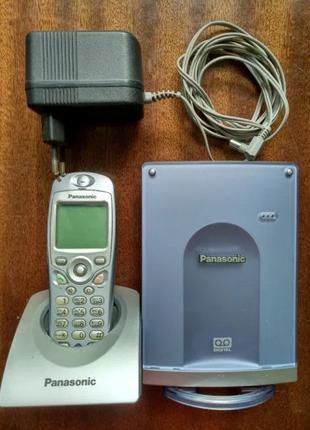 Телефон с автоответчиком Panasonic KX- TCD 586 цифровой радио DEC