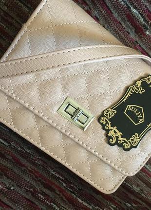 Продается новая сумка-клатч! Цвет розовой пудры!