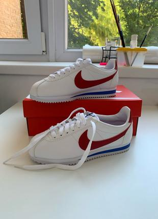 "Nike - Classic Cortez leather ""White Red"" Wmns - 36 розмір"
