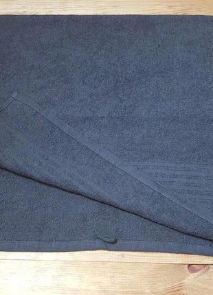 Полотенце для лица и рук темно-серое 50 х 90 см miomare