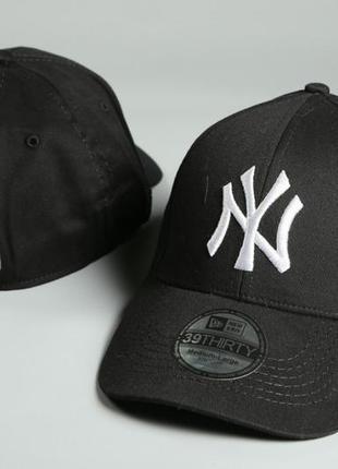 Кепка new york yankees черный фирма new era mlb