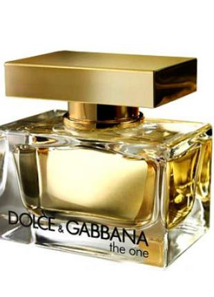 EDT Туалетная вода для женщин The One Dolce Gabbana AY30132