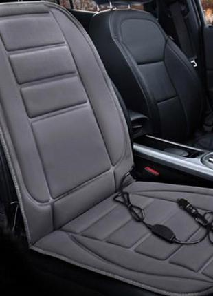 Чехол-накидка на сиденье авто с подогревом от прикуривателя