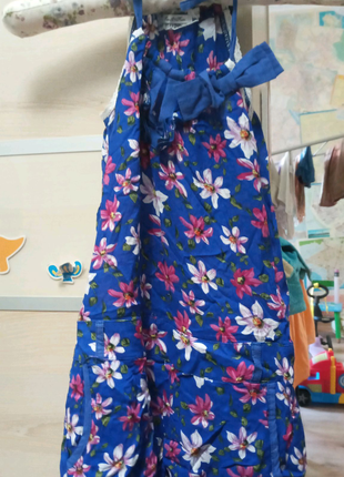 Ромпер шорты лето цветы девочка 3 4 Фан Фан Италия Fun Fun