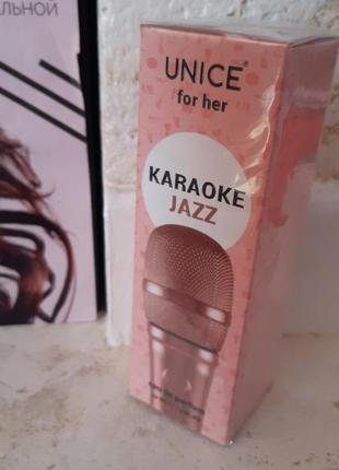 Парфюмированная вода karaoke jazz, unice 50 мл юнайс