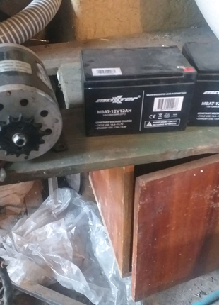 Електродвигатель 36v 500w