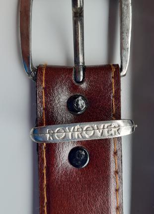 Ремень фирменный из кожзаменителя ROYROVER ORIGINAL, 2.6 см х 103
