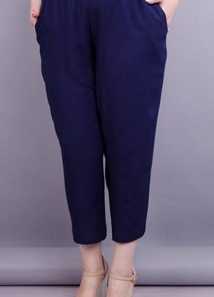 Женские укороченные брюки больших размеров