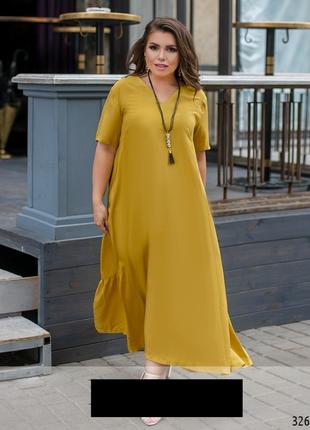 Платье женское большие размеры код М-32657