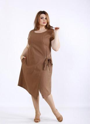 Платье летнее женское большие размеры код Га-01218-3