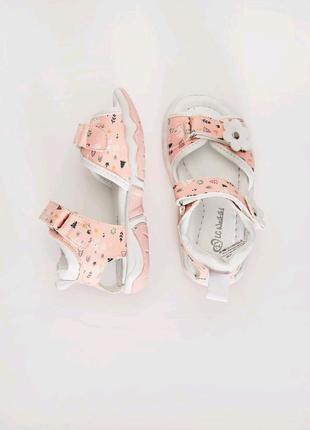 Босоножки / сандалии для девочки 24 размер