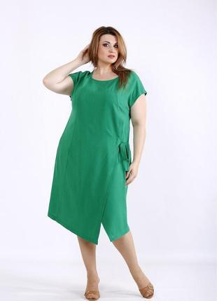 Платье летнее женское большие размеры код Га-01218-2